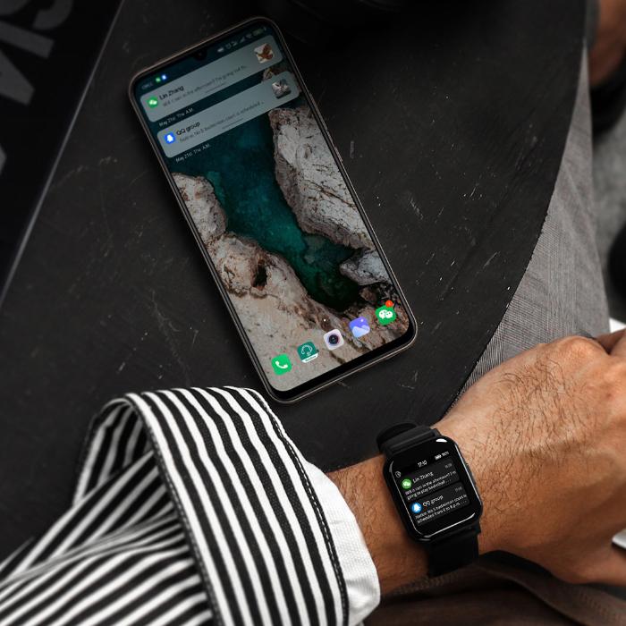 Elegancki smartwatch haylou